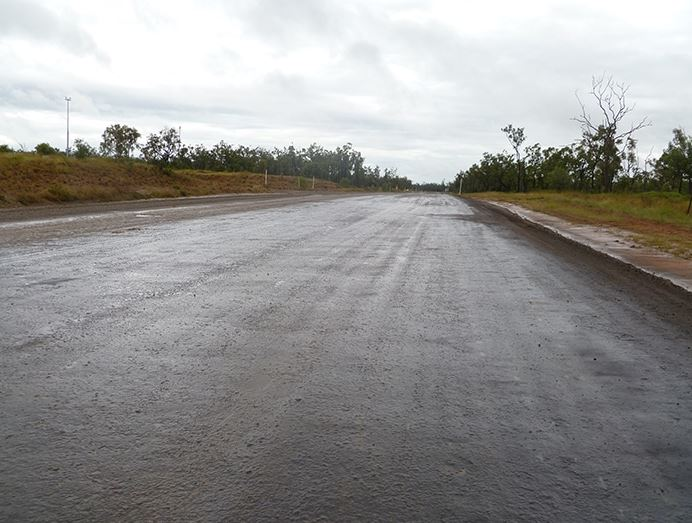 Wet Weather Haul Roads Mining South Africa